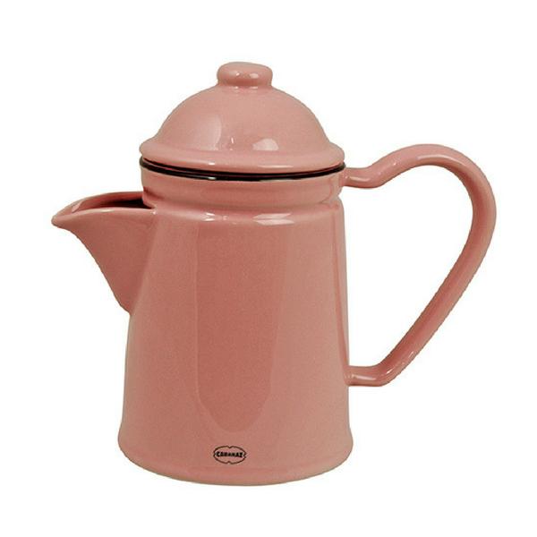 Keraamiline roosa kann sobib nii kohvi kui tee jaoks. Kõrgus 16,5 cm Laius 20 cm Mahutavus 600 ml. Inspireeritud eelmise sajandi emailnõudest.