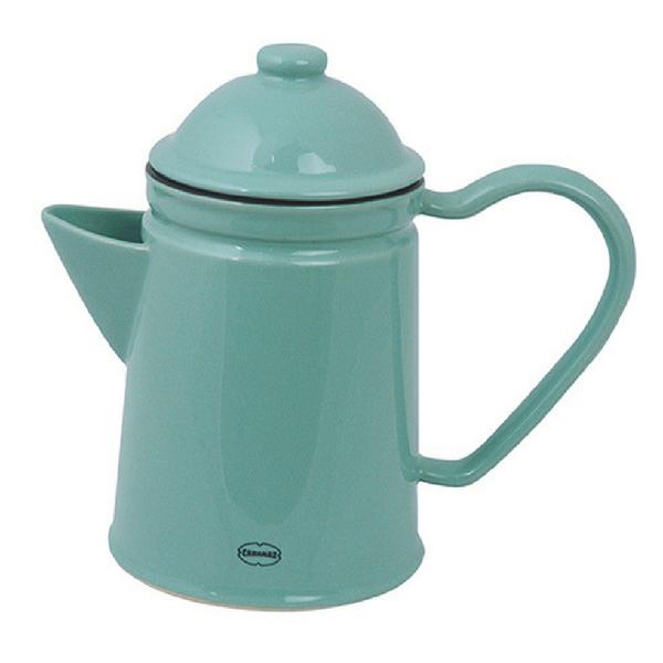 Keraamiline helesinine kann sobib nii kohvi kui tee jaoks. Kõrgus 16,5 cm Laius 20 cm Mahutavus 600 ml. Inspireeritud eelmise sajandi emailnõudest.