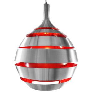 Laelamp UFO punane