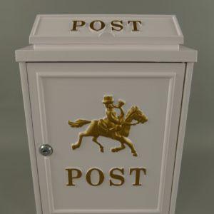 Valge postkast