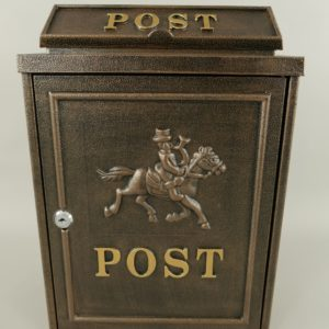 Pruun postkast