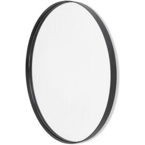 Ümmargune must peegel